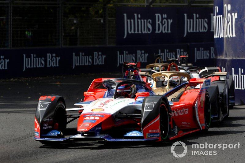 Pascal Wehrlein, Mahindra Racing, M6Electro Jean-Eric Vergne, DS Techeetah, DS E-Tense FE20