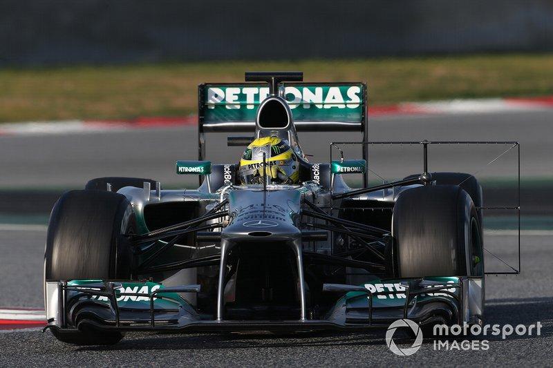 2013: Nico Rosberg, Mercedes AMG F1 W04: 1:20.130