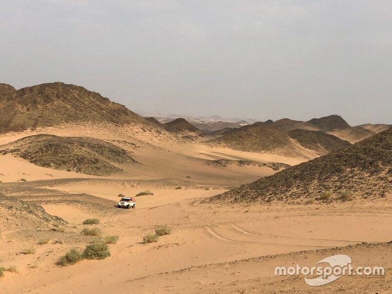 Etapa 10 (15 de janeiro): de Haradh a Shubaytah (608 km, sendo 534 cronometrados)