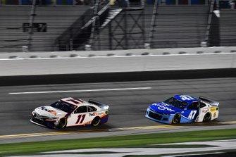 Denny Hamlin, Joe Gibbs Racing, Toyota Camry FedEx Express and Ricky Stenhouse Jr., JTG Daugherty Racing, Chevrolet Camaro Kroger