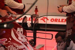 Alerón trasero del Alfa Romeo C39