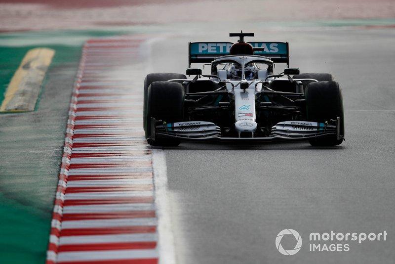 1º Valtteri Bottas, Mercedes F1 W11: 1:15.732 (con neumáticos C5 en la semana 1)