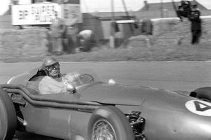 Carroll Shelby, Aston Martin DBR4/250, al GP di Gran Bretagna del 1959
