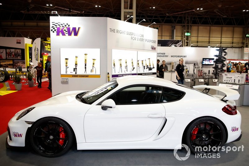 A car on display on the KW stand