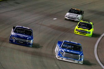 Austin Hill, Hattori Racing Enterprises, Toyota Tundra United Rentals and Tanner Gray, DGR-Crosley, Ford F-150 Ford | Ford Performance