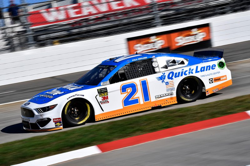 Paul Menard, Wood Brothers Racing, Ford Mustang Quick Lane Tire & Auto Center