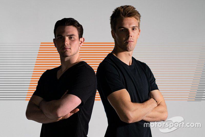 Pato O'Ward, Oliver Askew, Arrow McLaren SP
