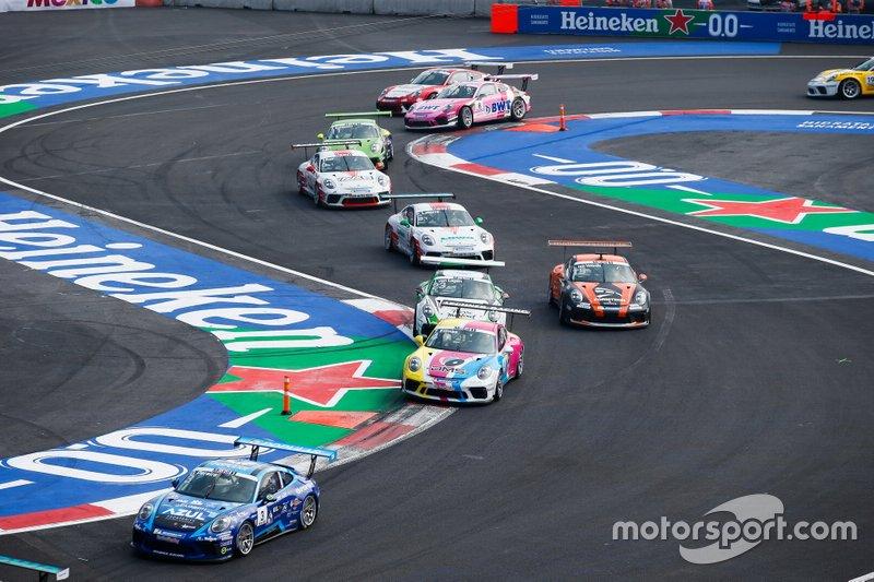 Dylan Pereira, Momo Megatron Lechner Racing, Tio Ellinas, Momo Megatron Lechner Racing, Jaap van Lagen, martinet by ALMERAS, Larry ten Voorde, MRS GT-Racing