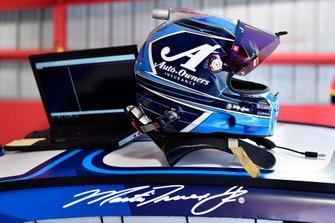 Martin Truex Jr., Joe Gibbs Racing, Toyota Camry Auto Owners Insurance helmet