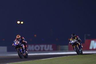 Michael van der Mark, Pata Yamaha, Loris Baz, Ten Kate Racing Yamaha, WorldSBK race2, Qatar 2019