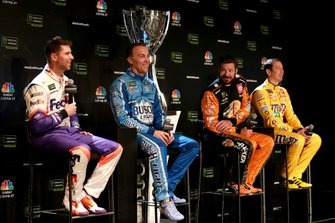 NASCAR-Finalteilnehmer 2019: Denny Hamlin, Kevin Harvick, Martin Truex Jr., Kyle Busch