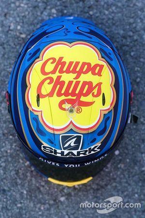 First helmet of Jorge Lorenzo, Repsol Honda Team