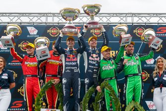 Podium: 1, Jamie Whincup, Craig Lowndes, 2. Chaz Mostert, James Moffat, 3. Lee Holdsworth, Thomas Randle