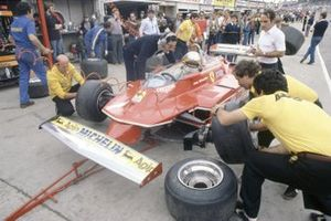 Jody Scheckter, Ferrari, Mauro Forghieri, al GP del Brasile del 1980