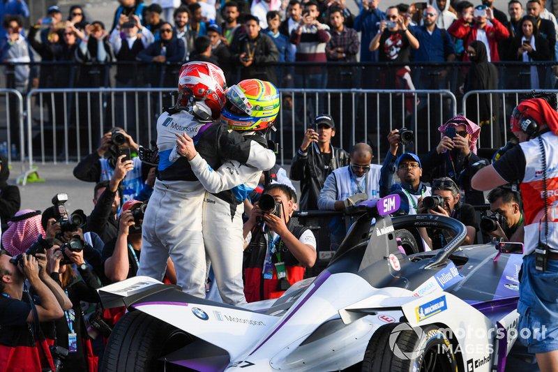 Alexander Sims, BMW I Andretti Motorsports y Maximilian Gunther, BMW I Andretti Motorsports, BMW iFE.20