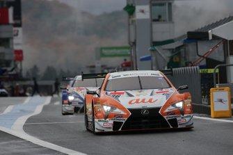 Kazuki Nakajima, Lexus Team TOM'S Lexus LC500