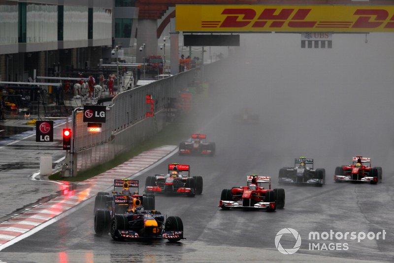Sebastian Vettel, Red Bull Racing RB6 Renault, Mark Webber, Red Bull Racing RB6