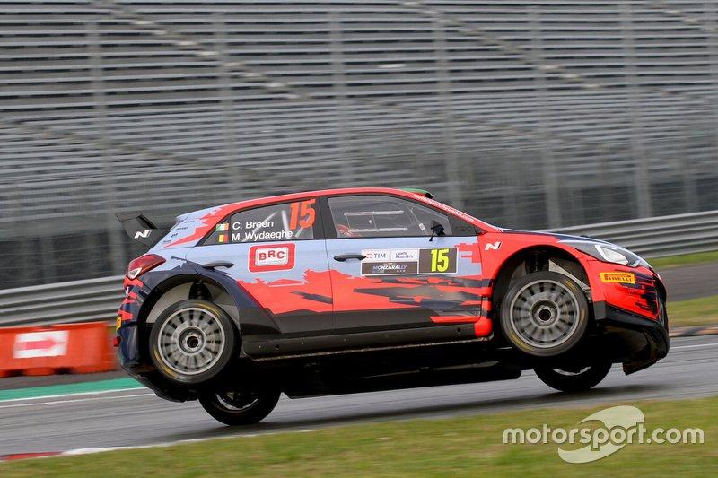Craig Breen, Martijn Wydaeghe, Hyundai i20