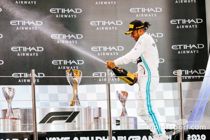 84- GP de Abu Dhabi 2019, Mercedes