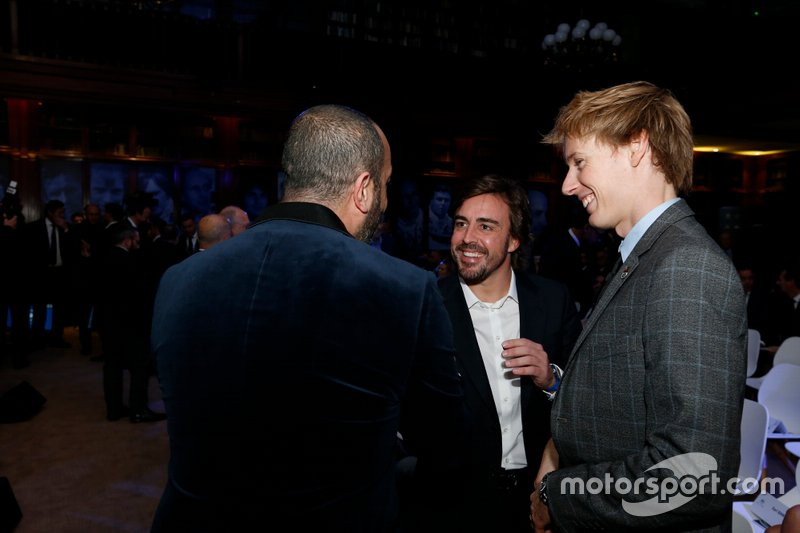 Fernando Alonso, Brendon Hartley