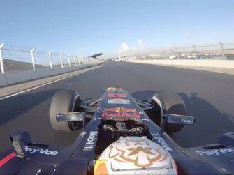 Onboard Max Verstappen, Red Bull RB8