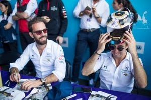 Jean-Eric Vergne, DS Techeetah, Antonio Felix da Costa, DS Techeetah at the autograph session