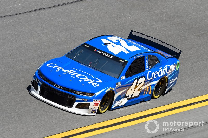 8. Kyle Larson, Chip Ganassi Racing, Chevrolet Camaro Credit One Bank