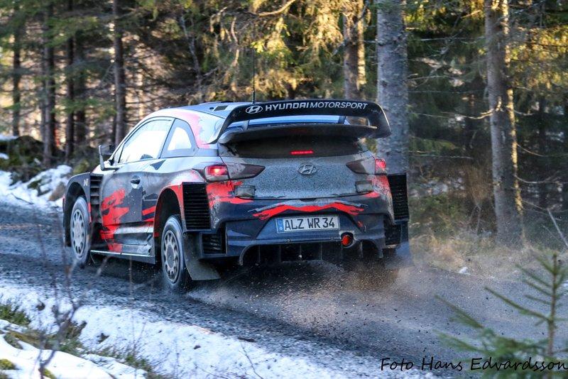 Ott Tanak, Martin Jarveoja, Hyundai i20 Coupe WRC