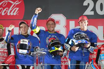 L'équipage de la #5 F.C.C. TSR Honda France