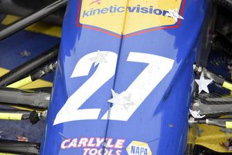 Startnummer 27 von Alexander Rossi, Andretti Autosport Honda