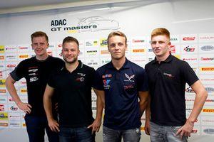 Dominik Fugel, Team Honda ADAC Sachsen, #50 YACO Racing Audi R8 LMS: Philip Geipel, #1 Callaway Competition Corvette C7 GT3-R: Marvin Kirchhöfer, Marcel Fugel, Profi-Car Team Halder Honda