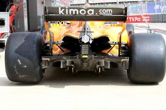 Difusor del McLaren MCL33