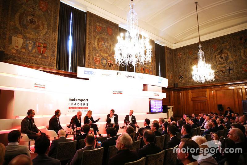 L'inaugurale Motorsport Leaders Business Forum presentato da Motorsport Network