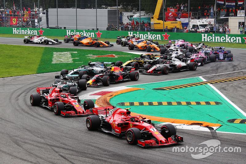 Start: Kimi Raikkonen, Ferrari SF71H