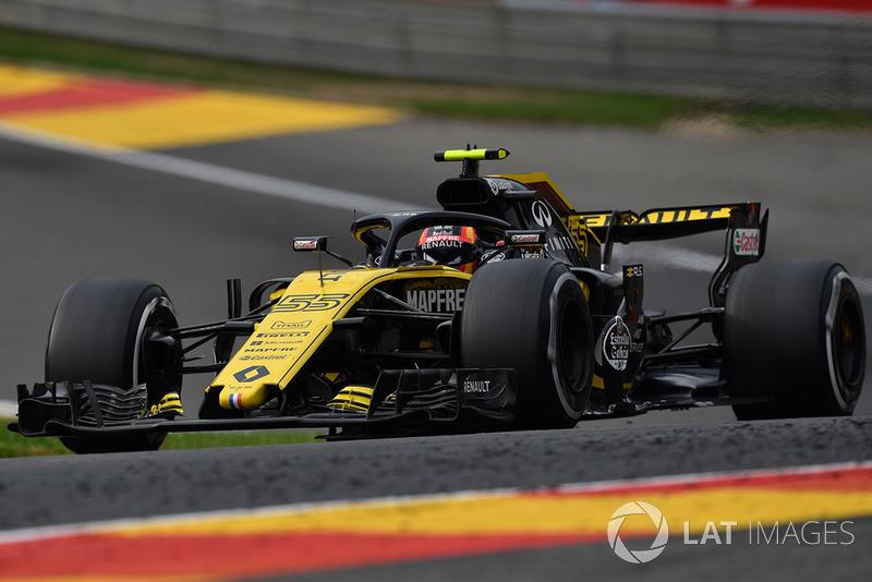 19. Карлос Сайнс, Renault Sport F1 Team RS18 – штраф за замену силовой установки