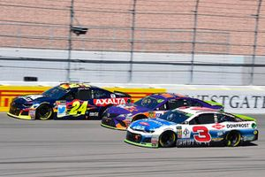 William Byron, Hendrick Motorsports, Chevrolet Camaro AXALTA, Denny Hamlin, Joe Gibbs Racing, Toyota Camry FedEx Ground and Austin Dillon, Richard Childress Racing, Chevrolet Camaro DOWFROST