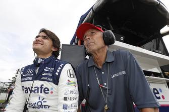 Pietro Fittipaldi, Dale Coyne Racing Honda met bandenspecialist Kenny Szymanski