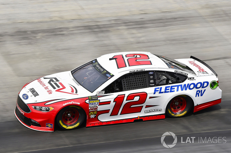 10. Ryan Blaney, Team Penske, Ford Fusion REV