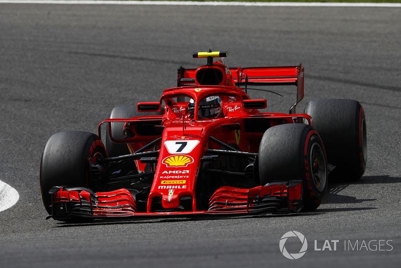 7 місце — Кімі Райкконен, Ferrari. Умовний бал — 18,75