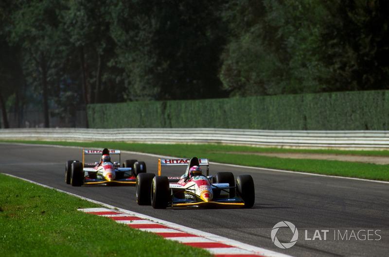 Новичок Ф1 Педро Лами не справился с квалификацией и оказался 26-м и последним, что разительно контрастировало с седьмым результатом Херберта. Марко Апичелла проехал чуть лучше и стартовал 23-м.
