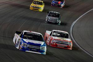 Myatt Snider, ThorSport Racing, Ford F-150, Timothy Peters, GMS Racing, Chevrolet Silverado Kingman Chevrolet