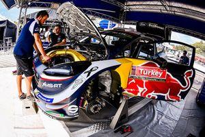 Car of Sébastien Ogier, Julien Ingrassia, M-Sport Ford WRT Ford Fiesta WRC