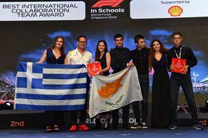 Best International Colaboration Team Award winners