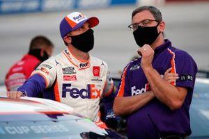 Denny Hamlin, Joe Gibbs Racing, mit Chris Gabehart