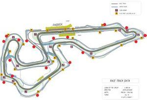 Карта трассы Igora Drive