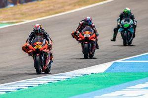 Pol Espargaro, Red Bull KTM Factory Racing, Brad Binder, Red Bull KTM Factory Racing, Franco Morbidelli, Petronas Yamaha SRT