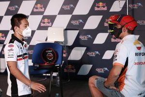 Tatsuki Suzuki, SIC58 Squadra Corse , Marc Marquez, Repsol Honda Team