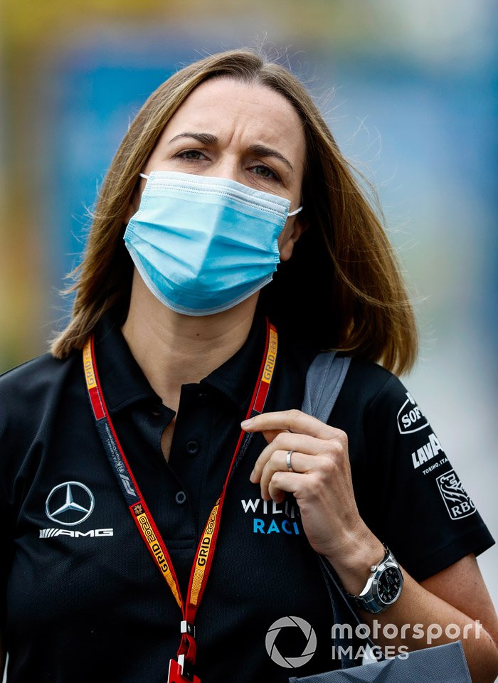 Claire Williams, directora de Williams Racing