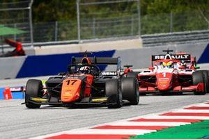 Richard Verschoor, MP Motorsport y Oscar Piastri, Prema Racing