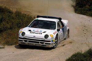 Kalle Grundel, Benny Melander, Ford RS200